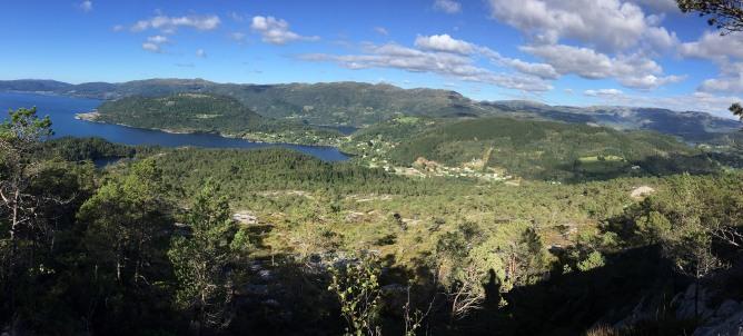 Hyllestad view