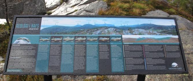 Info board