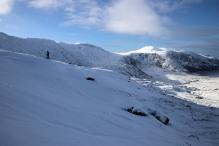 """On the ridge from """"Skaret"""""""