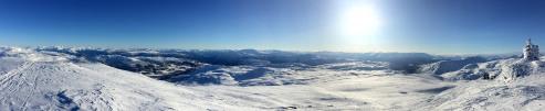 Cairn top Iphone panorama (1/2)