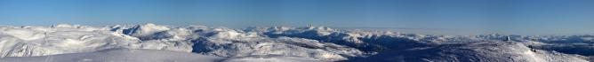 Blåfjellet SLR panorama (2/3)