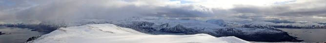 Summit panorama (1/3)