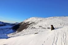 Finally, on proper snow