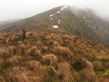 On the ridge towards Løkeberget