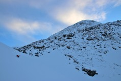 Into the upper Klungsdalen valley