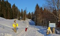 Leaving Storsætra trailhead