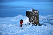 On the cairn top