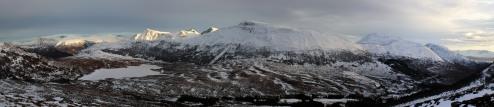 Kongsvollen and Blåtind - across Ringstaddalen