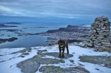 On Hasundhornet, overlooking Ulsteinvik