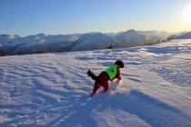 Karma in powder snow