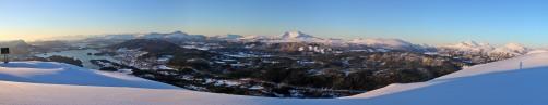 Liafjellet panorama (1/2)