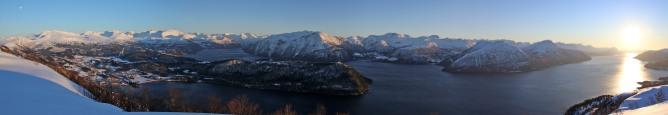 Liafjellet panorama (2/2)