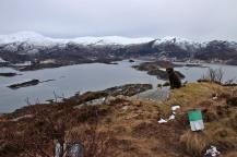 On top of Røyrafjellet