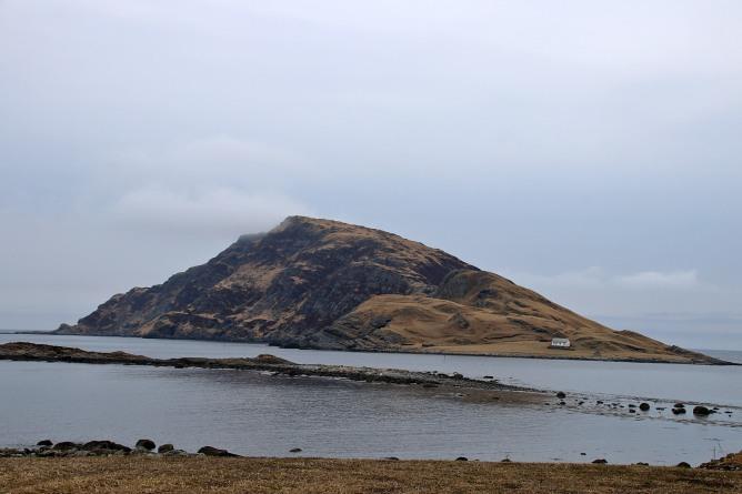 Riste island seen from Ristesundet