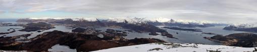 Rjåhornet panorama