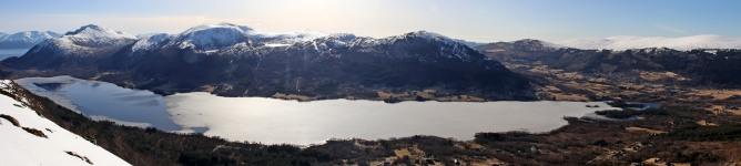Lake Snipsøyrvatnet