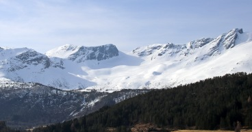Eidskyrkja and the glacier route