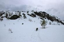Onto the high ridge