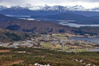 View towards Tennfjord