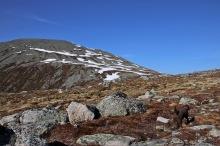 Urfjellet summit ridge