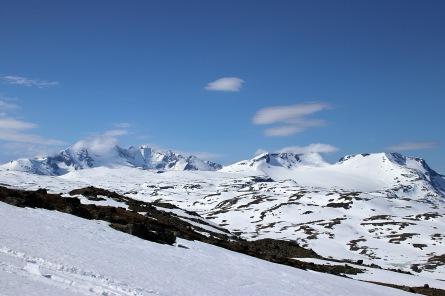 Hurrungane peaks and Fanaråken