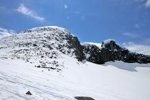 The ridge to Veslebjørn