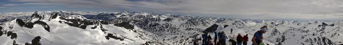 Storebjørn summit view (2/3)