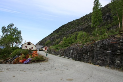 The Sågnes trailhead