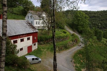 The Løvås trailhead