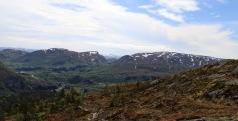 View towards Laviksåta