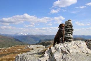 On top of Høgeheia