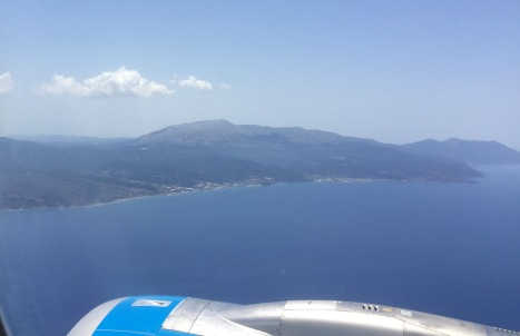 Approaching Rhodes