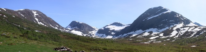 The valley from Strynesætra