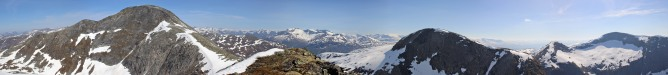 Mannefjellet S panorama (1/2)