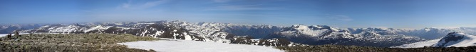 Holtafjellet wide angle view (1/2)