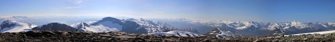 Holtafjellet wide angle view (2/2)