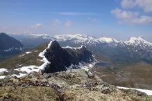 The ridge towards Fossenibba