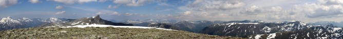 Ørnefjellet wide angle view (2/2)