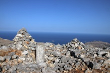 The summit marker