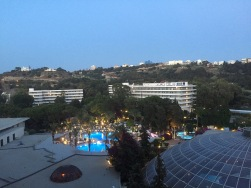 Hotel room view