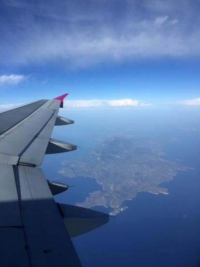 Finally - airborne