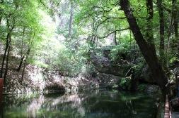 A small dam