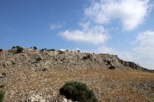 The summit plateau