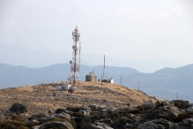 The north top - with an antenna