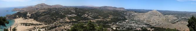 Panorama from Tsambika