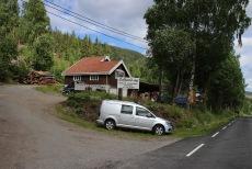 Søfferud Sag - the trailhead