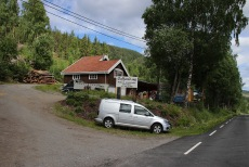 Søfferud Sag - the trailhead