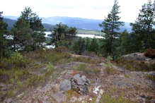 On top of Vardhaugkollen