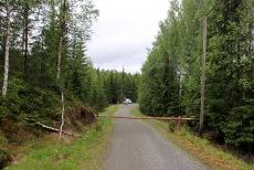Rogndalsvegen - closed by a gate