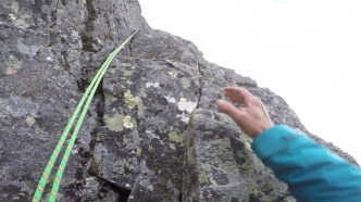Where are those &%#!) handholds...